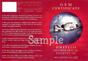 BGI MID Certificate 601