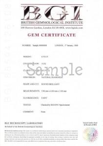 BGI MID Certificate (601) inner